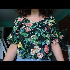 Floral Zara blouse